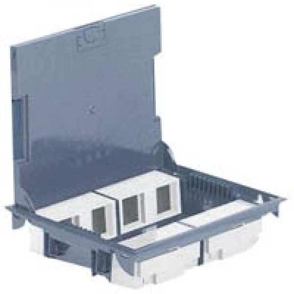 Напольная коробка (лючок) Legrand 16 модулей