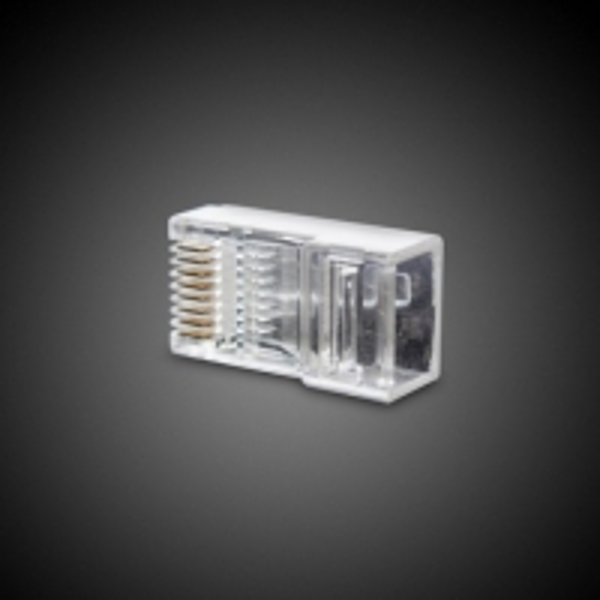 Коннектор, UTP RJ-45, 4 pin