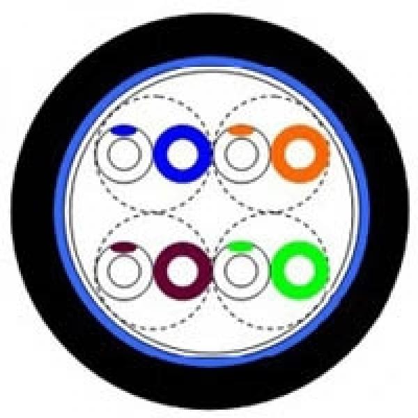 Eurolan Кабель кат.5е UTP, 4 пары, внешней прокладки, -60°C, катушка 305 м